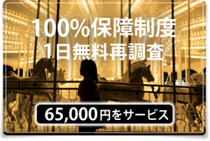 100%保証制度 東京 目黒 七福探偵事務所