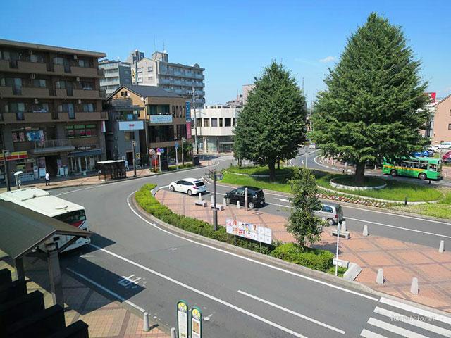 埼玉県 北本駅東口ロータリー