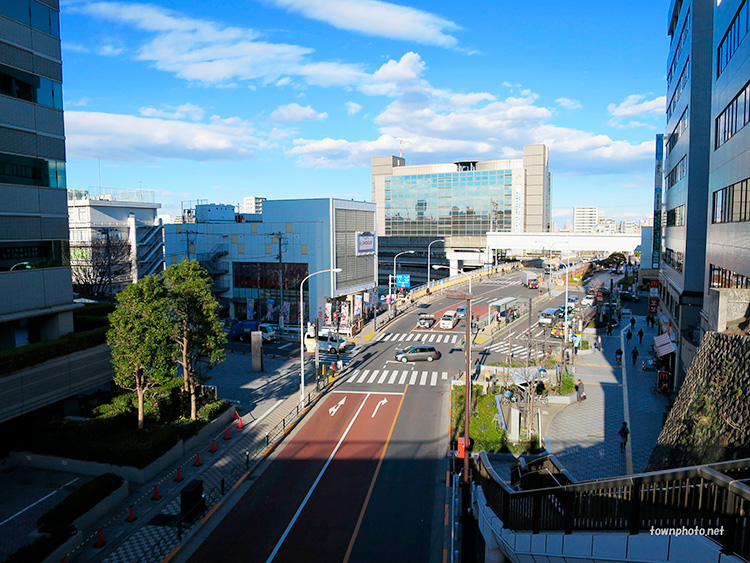 JR田端駅前