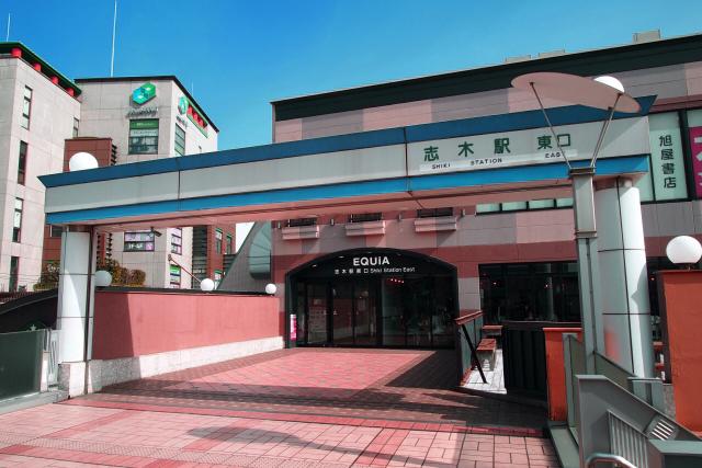 東武東上線 志木駅 東口